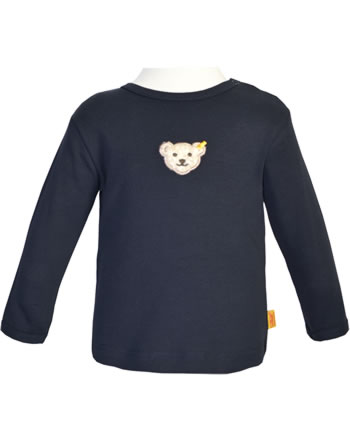Steiff Shirt long sleeve BASICsteiff navy 0021204-3032