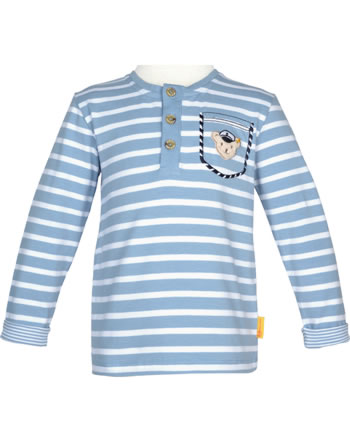 Steiff Shirt Langarm BEAR CREW forever blue 2012137-6027
