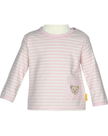 Steiff Shirt long sleeve BEAR IN MY HEART barely pink 2011102-2560