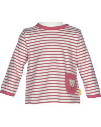 Steiff Shirt Langarm BEAR IN MY HEART fruit dove 2011102-2203