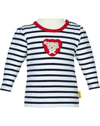 Steiff Shirt Langarm BEAR TO SCHOOL steiff navy 2021403-3032