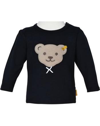 Steiff Shirt long sleeve BEAR TO SCHOOL steiff navy 2021404-3032