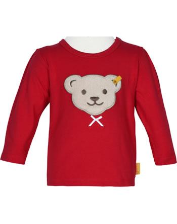 Steiff Shirt long sleeve BEAR TO SCHOOL tango red 2021404-4008