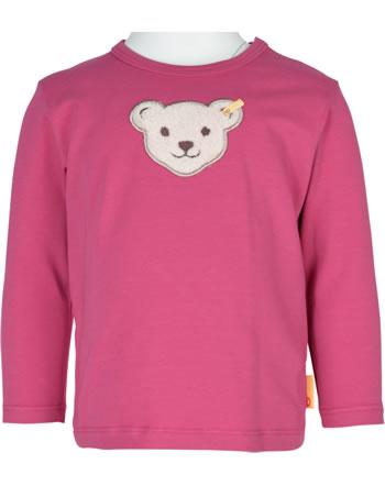Steiff Shirt Langarm BEST FRIENDS Baby Girls claret red 2123406-3057
