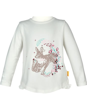 Steiff Shirt Langarm FAIRYTALE Mini Girls cloud dancer 2023209-1001