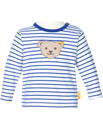 Steiff Shirt Langarm FISH AND SHIP Baby Boys bright white 2112334-1000