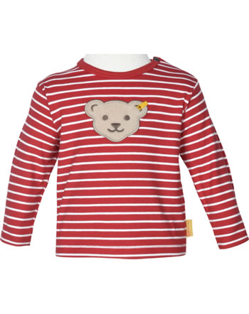 Steiff Shirt Langarm FISH AND SHIP Baby Boys true red 2112334-4015