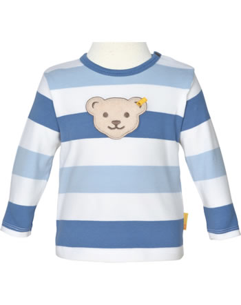 Steiff Shirt long sleeve HELLO SUMMER Baby Boys coronet blue 2113334-6048