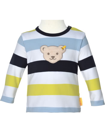 Steiff Shirt long sleeve HELLO SUMMER Baby Boys steiff navy 2113334-3032