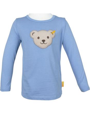 Steiff Shirt Langarm m. Quietsche SEA BEAR forever blue 2012432-6027
