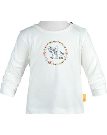 Steiff Shirt Squeaker long sleeve PONYFUL Baby Girls cloud dancer 2022414-1001