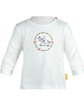Steiff Shirt Pouet manches longue PONYFUL Baby Girls cloud dancer 2022414-1001