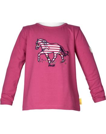 Steiff Shirt Langarm PONYFUL Mini Girls carmine 2022213-7046