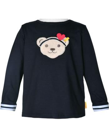 Steiff Shirt Langarm Quietsche MARINE AIR Mini Girls steiff navy 2112225-3032