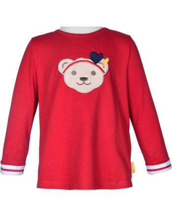 Steiff Shirt Langarm Quietsche MARINE AIR Mini Girls true red 2112225-4015