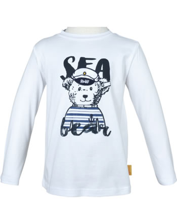 Steiff Shirt Langarm SEA BEAR bright white 2012405-1000