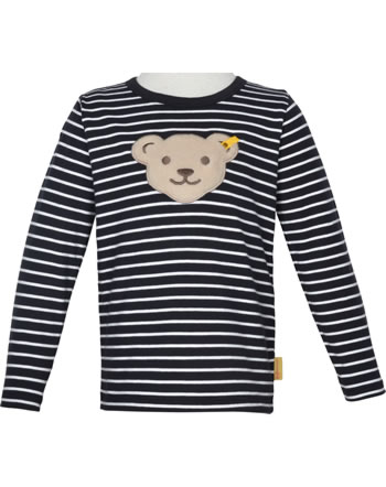 Steiff Shirt Quietsche Langarm FISH AND SHIP Mini Boys steiff navy 2112132-3032