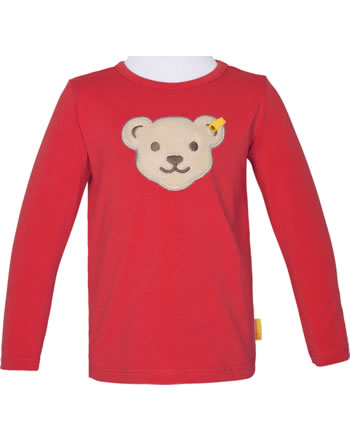 Steiff Shirt Quietsche Langarm FISH AND SHIP Mini Boys true red 2112126-4015