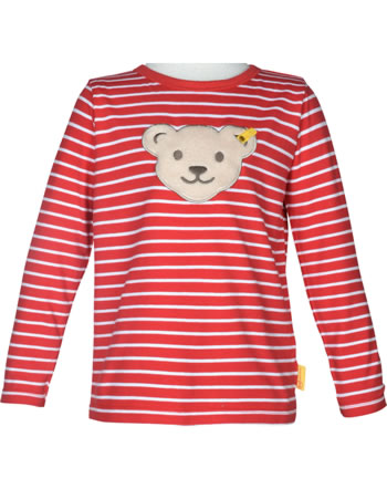 Steiff Shirt Quietsche Langarm FISH AND SHIP Mini Boys true red 2112132-4015