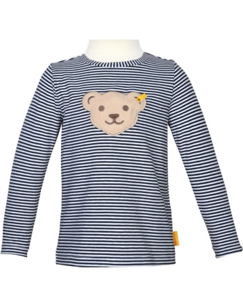 Steiff Shirt Quietsche Langarm HELLO SUMMER Mini Boys steiff navy 2113118-3032