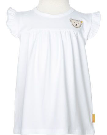 Steiff Shirt / Top HELLO SUMMER Mini Girls bright white 2113227-1000