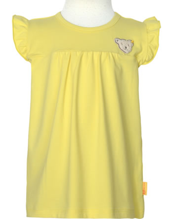 Steiff Shirt / Top HELLO SUMMER Mini Girls yellow cream 2113227-2005