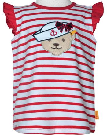 Steiff Shirt / Top MARINE AIR Mini Girls true red 2112201-4015