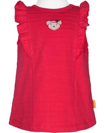 Steiff Shirt / Top MARINE AIR Mini Girls true red 2112227-4015