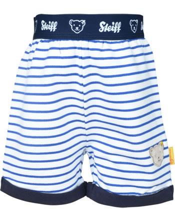 Steiff Shorts FISH AND SHIP Baby Boys bright white 2112325-1000