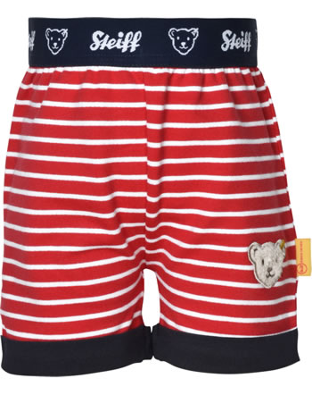Steiff Shorts FISH AND SHIP Baby Boys true red 2112325-4015