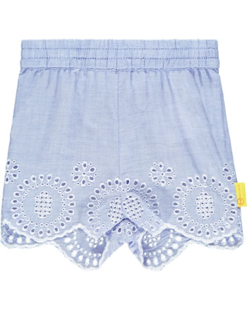 Steiff Shorts HELLO SUMMER Baby Girls brunnera blue 2113415-6043