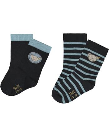 Steiff Socken 2er Pack GOTS steiff navy 2021915-3032