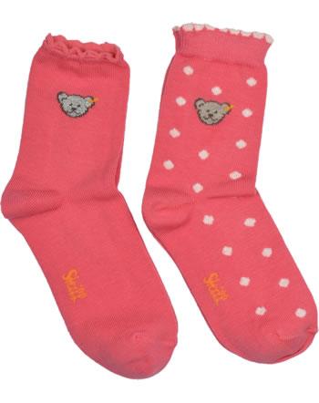 Steiff 2 pair of baby socks Teddy TEDDY fruit dove 2011913-2203