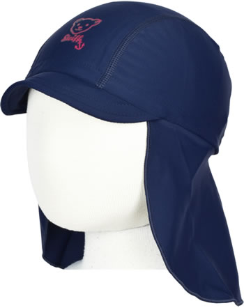 Steiff Hat NAVY HEARTS steiff navy 2014620-3032