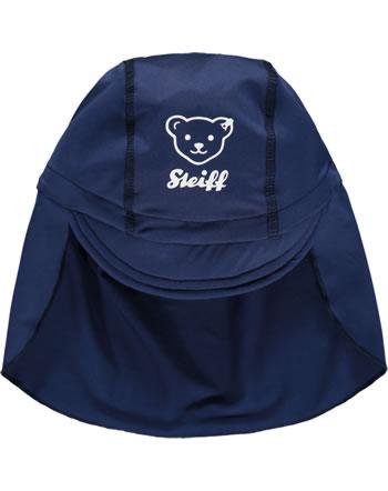 Steiff Sonnen-Mütze mit Schild SWIMWEAR steiff navy 2114620-3032