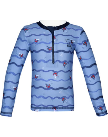 Steiff Shirt with sun protection CRAB MEETS STRIPES forever blue 2014614-6027
