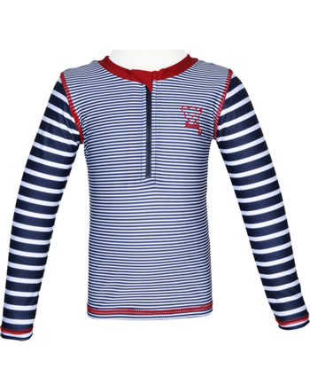 Steiff Shirt with sun protection CRAB MEETS STRIPES steiff navy 2014619-3032