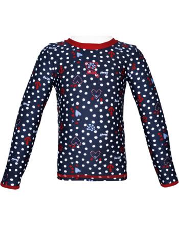 Steiff Sonnenschutz-Shirt UV-Shirt NAVY HEARTS GIRL steiff navy 2014613-3032