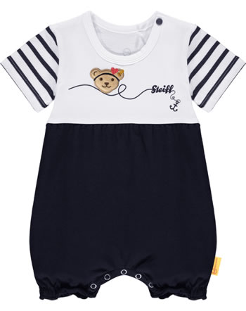 Steiff Romper short sleeve MARINE AIR steiff navy 2112412-3032