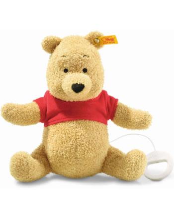 Steiff Boite à musique Disney Winnie l'ourson 21 cm blond 290152
