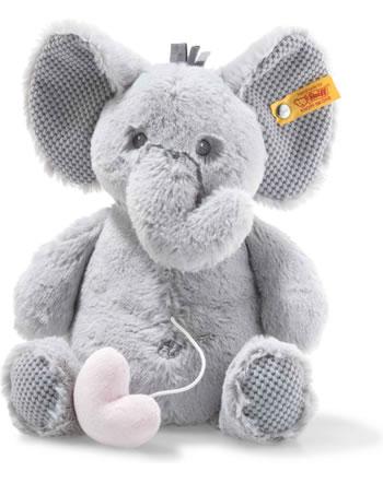 Steiff Spieluhr Soft Cuddly Friends Elefant Ellie hellgrau 26 cm 241765