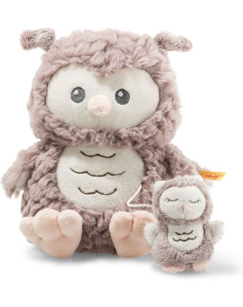 Steiff Spieluhr Soft Cuddly Friends Eule Ollie rosebraun 21 cm 241840