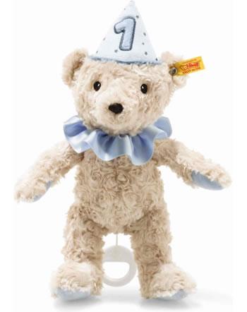 Steiff Spieluhr Teddybär Junge 1. Geburtstag 26 cm hellblond 280881