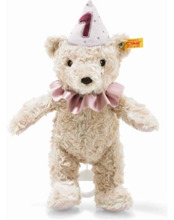 Steiff Spieluhr Teddybär Mädchen 1. Geburtstag 26 cm hellblond 280874