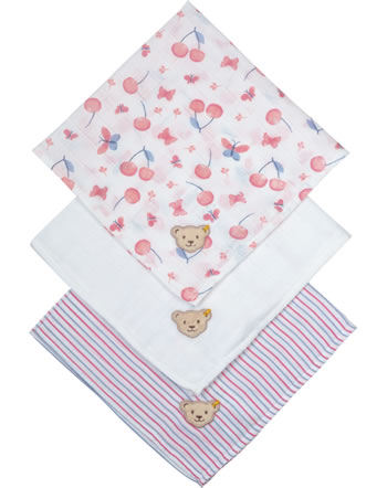 Steiff Couches lot de 3 BEAR AND CHERRY barely pink 2013221-2560