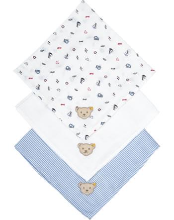 Steiff Diapers set of 3 BEAR CREW bright white 2012115-1000