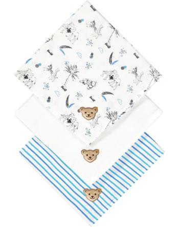 Steiff Diapers set of 3 SAFARI BEAR bright white 2013116-1000