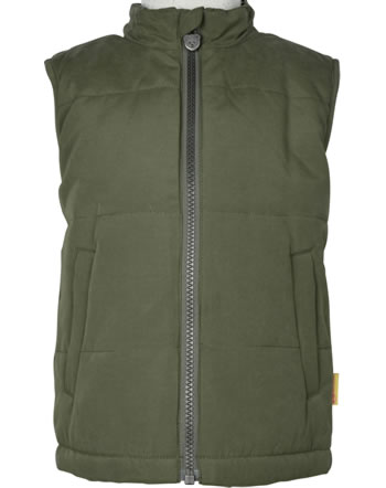 Steiff Vest INDI BEAR Mini Boys dusty olive 2022103-5020