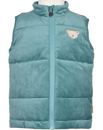 Steiff Stepp-Weste Velour SWEET HEART Mini Girls adriatic blue 2121202-6045