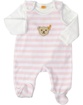 Steiff Nicki-Strampler m. Shirt BASIC barely pink 2tlg. 0002855-2560